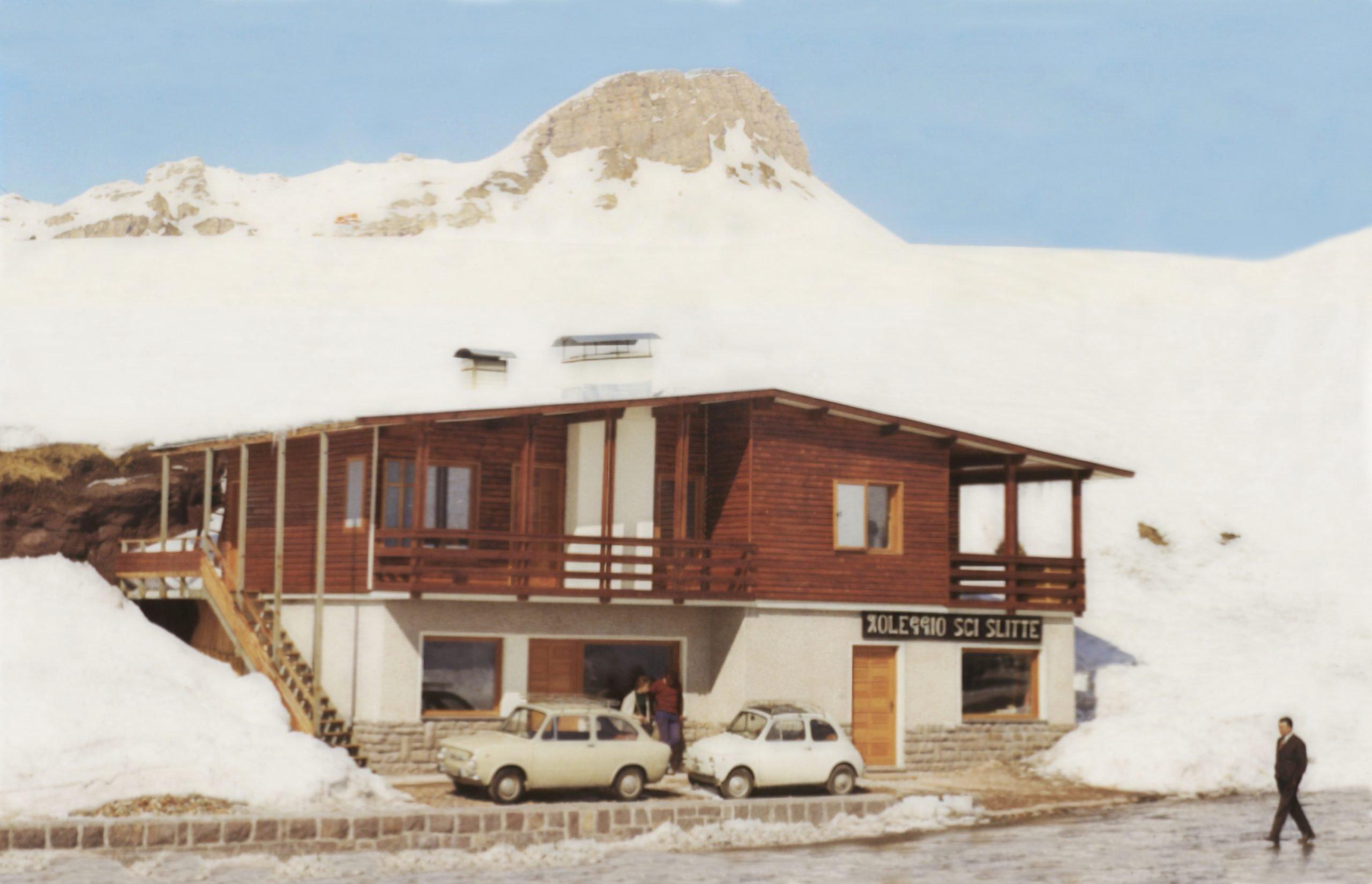 Cimon Stube Passo Rolle - anni '60
