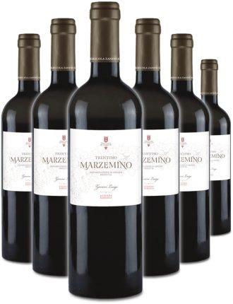 Marzemino • Zanini • 6 bottiglie • SPEDIZIONE GRATUITA