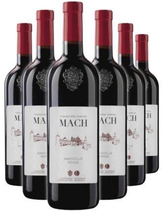 Navicello Rosso BIO • Vigneti delle Dolomiti IGT • Fondazione Edmund Mach • 6 bottiglie • SPEDIZIONE GRATUITA