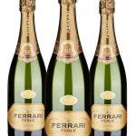 Ferrari Perlè • Trentodoc • 3 bottiglie • SPEDIZIONE GRATUITA