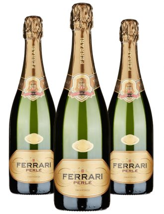 Ferrari Perlè • Trentodoc • 3 bottiglie