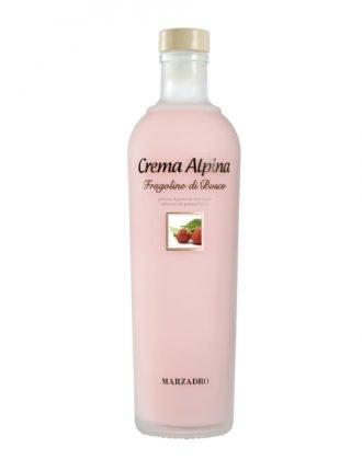 Crema Alpina alle Fragoline di Bosco • Marzadro • 70cl