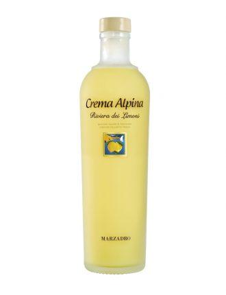 Crema Alpina ai Limoni del Garda • Marzadro • 70cl • SPEDIZIONE GRATUITA