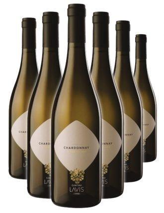 Chardonnay DOC • Cantina Lavis • 6 bottiglie • SPEDIZIONE GRATUITA