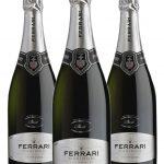 Ferrari Maximum Brut • Trentodoc • 3 bottiglie • SPEDIZIONE GRATUITA