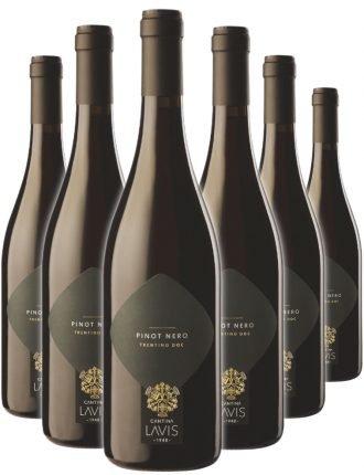 Pinot Nero DOC • Cantina Lavis • 6 bottiglie • SPEDIZIONE GRATUITA