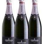 Ferrari Maximum Rosé • Trentodoc • 3 bottiglie • SPEDIZIONE GRATUITA