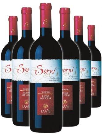 Rosso dei Sorni • Cantina Lavis • 6 bottiglie