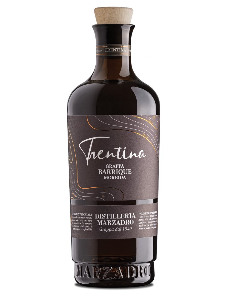 grappa morbida barrique la trentina