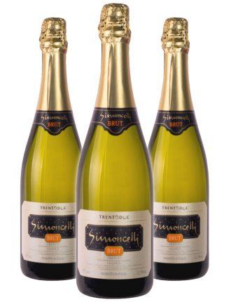 Trentodoc Spumante Metodo Classico Brut • Simoncelli • 3 bottiglie