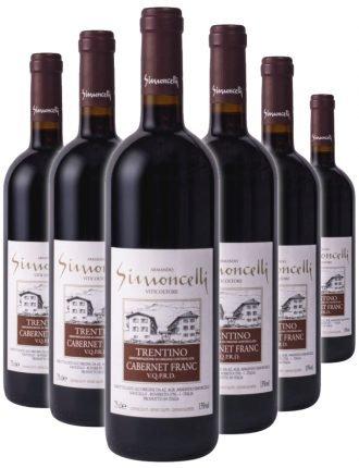 Trentino Cabernet Franc D.O.C. • Simoncelli • 6 bottiglie