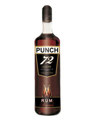 Punch al Rum • Valentini • 100cl • SPEDIZIONE GRATUITA