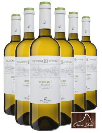 Chardonnay Trentino DOC • Riva del Garda • 6 bottiglie • SPEDIZIONE GRATUITA