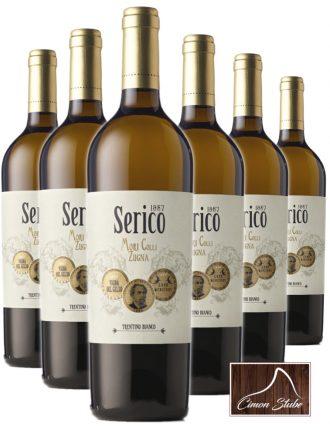 Serico – Bianco Trentino DOP • Cantina Mori Colli Zugna • 6 bottiglie • SPEDIZIONE GRATUITA