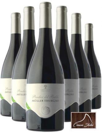 Müller Thurgau Biologico Trentino Dop • Cantina Pendici del Baldo • 6 bottiglie • SPEDIZIONE GRATUITA