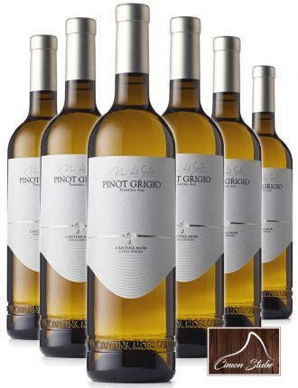 Pinot Grigio Trentino DOP • Cantina Mori Colli Zugna • 6 bottiglie