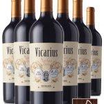 Vicarius • Rosso Trentino DOP • Cantina Mori Colli Zugna • 6 bottiglie