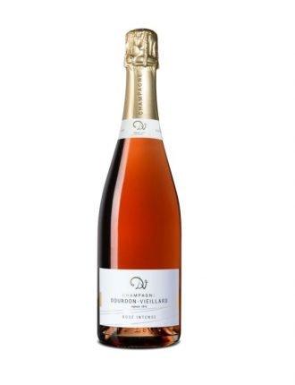 Champagne Dourdon Vieillard • Rosè Brut Intense • Francia • 3x75cl • SPEDIZIONE GRATUITA