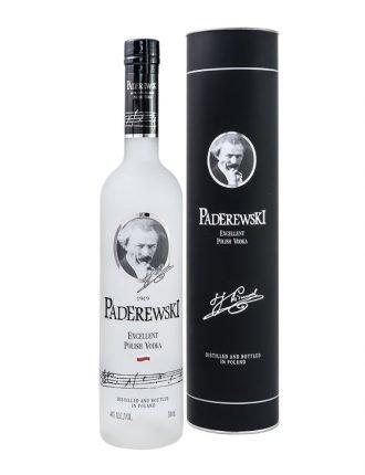 Vodka Paderewski • Polska Fabryka Wodek • Polonia • 70cl • SPEDIZIONE GRATUITA