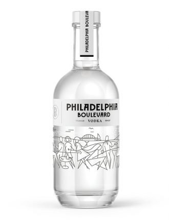Vodka Philadelphia Boulevard • Torunskie Wodki Gatunkowe • Polonia • 50cl • SPEDIZIONE GRATUITA