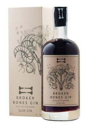 Gin Broken Bones Sloe • Slovenia • 50cl • SPEDIZIONE GRATUITA