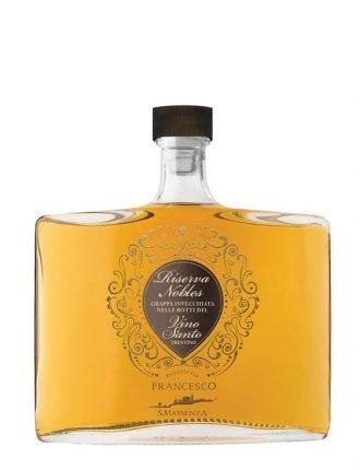 Grappa Riserva Nobles invecchiata in botti del Vino Santo • Distilleria Francesco • 50cl