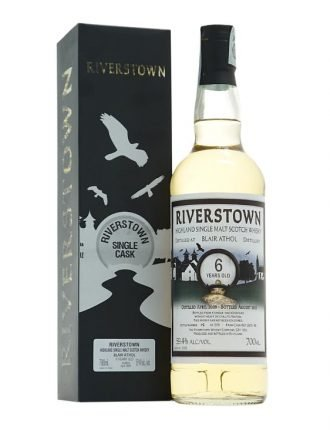 Whisky Riverstown • Single Malt Scotch Whisky • Aged 6 years • 2009 • 70cl • SPEDIZIONE GRATUITA