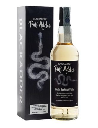 Whisky Blackadder Puff Adder • Torbato • Scotch Whisky • 70cl • SPEDIZIONE GRATUITA