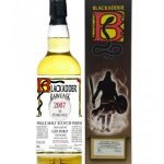 Whisky Blackadder Raw Cask • Distilled by Glen Moray • Single Malt • 2007 • Aged 10 Years • Cask #BF5690 • 70cl • SPEDIZIONE GRATUITA