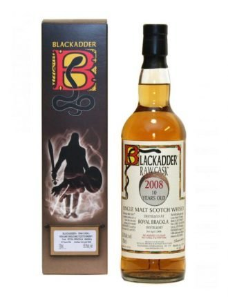Whisky Blackadder Raw Cask • Distilled by Royal Brackla • 2008 • Aged 10 Years • Cask #303590 • 70cl