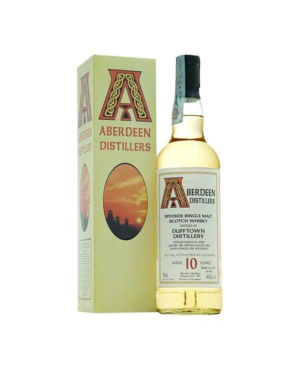 aberdeen dufftown distillery