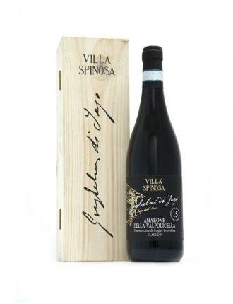 Amarone della Valpolicella DOC • Villa Spinosa • Veneto • 1998 • 75cl • SPEDIZIONE GRATUITA