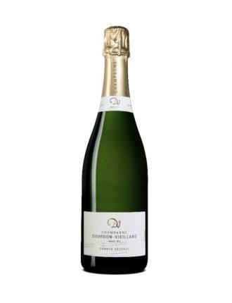 Champagne Dourdon Vieillard • Brut Grande Reserve • Francia • 3x75cl • SPEDIZIONE GRATUITA