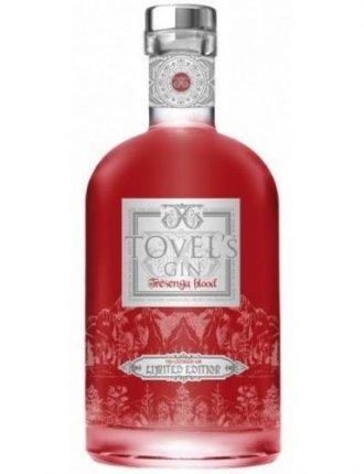 Tovel's Gin Tresenga Blood • Edizione Limitata • Italia • 70cl • SPEDIZIONE GRATUITA