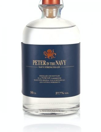 Gin Peter in the Navy • Navy Strenght Gin • Ginlab • Italia • 50cl • SPEDIZIONE GRATUITA