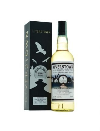 Whisky Riverstown • Single Malt Scotch Whisky • Aged 6 years • 2008 • 70cl • SPEDIZIONE GRATUITA