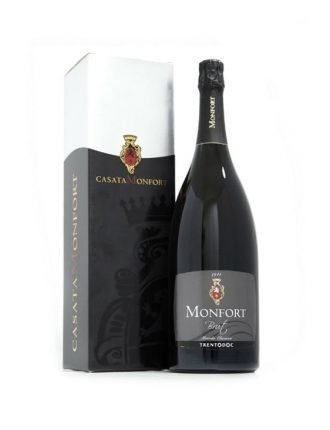 Trentodoc Monfort Brut • Casata Monfort • Trentino • Magnum 150cl • SPEDIZIONE GRATUITA