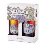 Amaro Marzadro alle erbe & Liquore Camilla alla camomilla in confezione regalo • 2x50cl • SPEDIZIONE GRATUITA