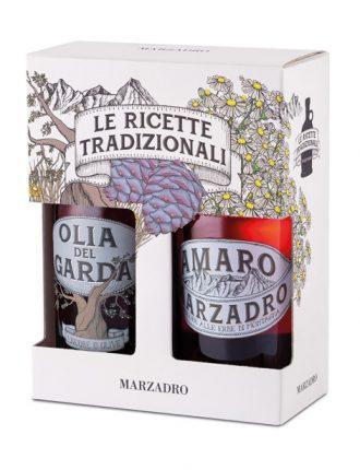 Amaro Marzadro alle erbe & Olia del Garda (liquore alle olive del Garda) • 2x50cl • SPEDIZIONE GRATUITA