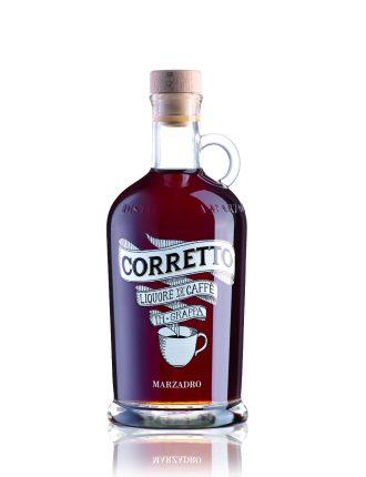 Liquore di Caffè in Grappa • Corretto Marzadro • 70cl • SPEDIZIONE GRATUITA