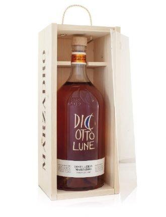 Grappa Diciotto Lune, bottiglia da 3 litri in cofanetto di legno • Marzadro • 300cl • SPEDIZIONE GRATUITA