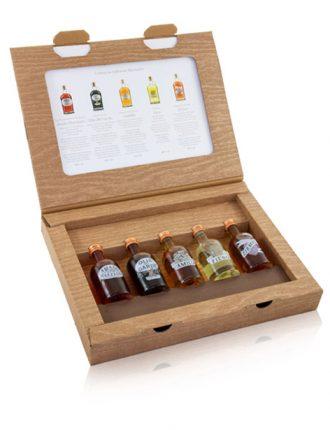 Set Degustazione Marzadro: 5 Infusioni + Invito in Distilleria • 5x5cl • SPEDIZIONE GRATUITA