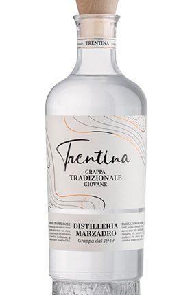 La Trentina Tradizionale • Grappa Giovane • Box Mignon 25 bottiglie • Marzadro • 25x4cl • SPEDIZIONE GRATUITA