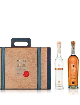 Confezione Viaggio n.04: 1 bt. Anfora + 1 bt. Le Diciotto Lune + invito in distilleria per degustazione speciale • Marzadro • 35cl+50cl • SPEDIZIONE GRATUITA