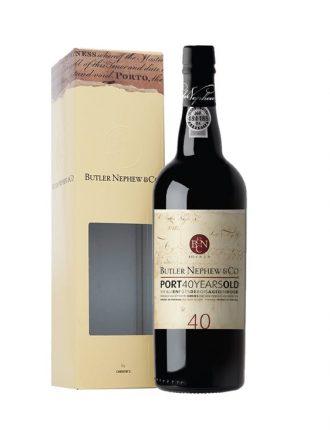 Porto Tawny Butler Nephew 40 Years Old • Christie'S Port Wine • Portogallo • 75cl • SPEDIZIONE GRATUITA